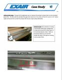 Airtec Servicios - Comparativa de una cortina de aire Exair contra un tubo perforado (PDF)