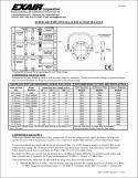 Airtec Servicios - Ficha técnica de cortina de aire circular Super Air Wipe Exair