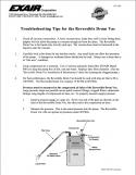 Airtec Servicios - Guia para solución de problemas comunes para aspiradora neumática Exair (PDF)