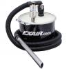 Aspiradora neumática mini DrumVac Exair com pequeño tambo de 5 galones.