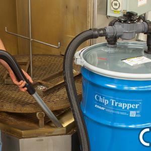 Aspiradora neumática para limpieza de CNC ChipTrapper