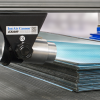 Cañón de Iones Exair Ion Air Cannon previene que láminas de plástico se peguen