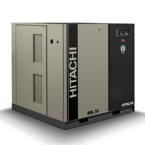 Compresor de aire Scroll SRL de 33 kW con varias cabezales de compresión tipo Multiplex.