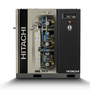 Compresor de aire exento de aceite tipo scroll serie SRL de Hitachi