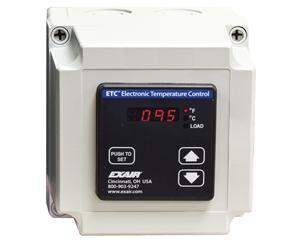 Control Electrónico de Temperatura para enfriadores de Tablero Exair cumple con la normativa Europea.