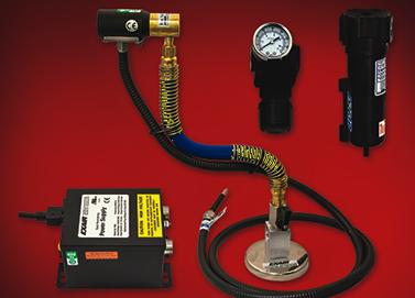 Kit de Jet de aire Ionizado Exair con base magnética y fuente de poder