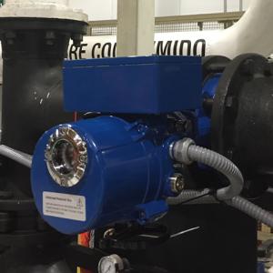 La iCX es una válvula de control de flujo que utilizando un actuador eléctrico.