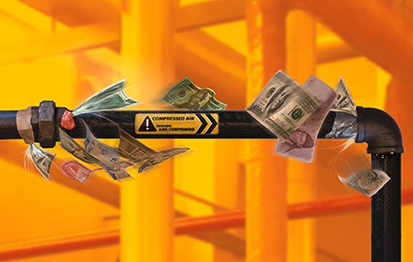 Logre un fuerte ahorro de aire comprimido eliminando costosas fugas en su sistema.