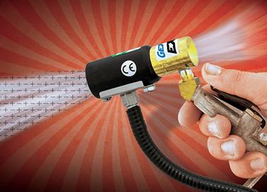 Pistola de aire Ionizado Exair es una solución sencilla para eliminación de estática en procesos manuales.