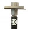 Punto Ionizador Exair genera iones de ozono sin riesgo de choque eléctrico y sin ser radioactivo.