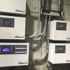 Sistema de control de compresores Metacentre por EnergAir controla todo tipo de compresores de desplazamiento positivo.