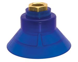 Ventosa redonda pequeña para generadores de vacío Exair.
