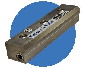 Cortinas de aire Exair - Silenciosas y poderosas cuchillas laminares de aire.
