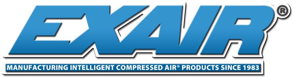 Logo de Exair en Alta Resolución Productos inteligentes de aire comprimido.