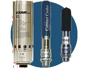 Enfriadores de tablero Exair - Utilizan un Tubo Vortex para mantener frescos los tableros de control industriales y evitar paros por altas temperaturas.